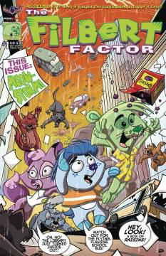 FILBERT FACTOR REJECTED BY FREE COMIC BOOK DAY