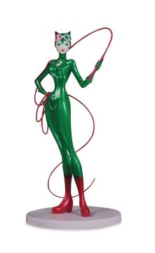 DC ARTIST ALLEY CATWOMAN SHO MURASE HOLIDAY PVC FIG