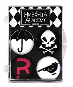 UMBRELLA ACADEMY 4 PACK MAGNET SET