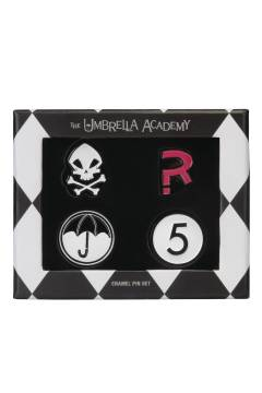 UMBRELLA ACADEMY ENAMEL PIN SET