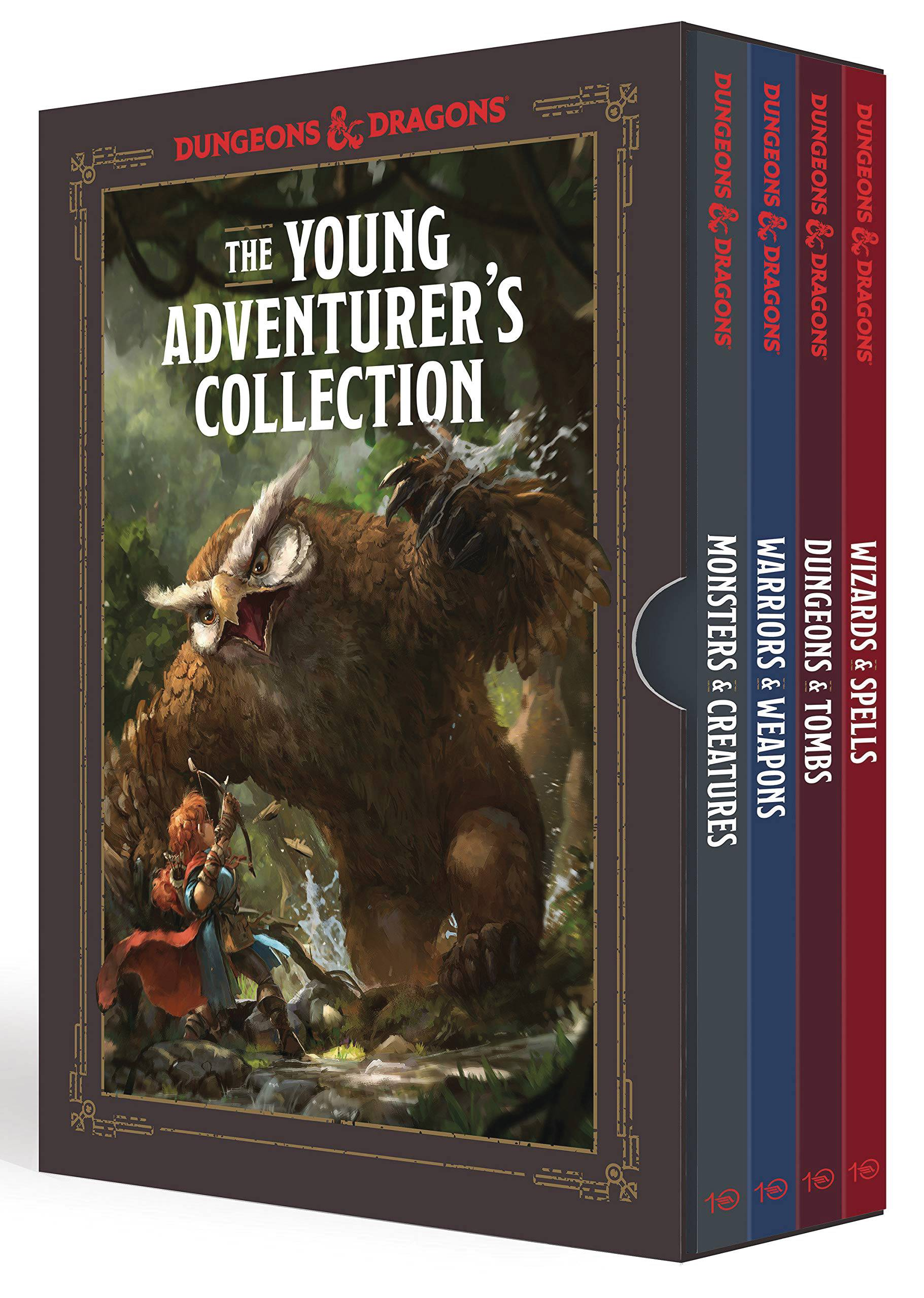 YOUNG ADVENTURERS COLL D&D 4 BOOK BOX SET