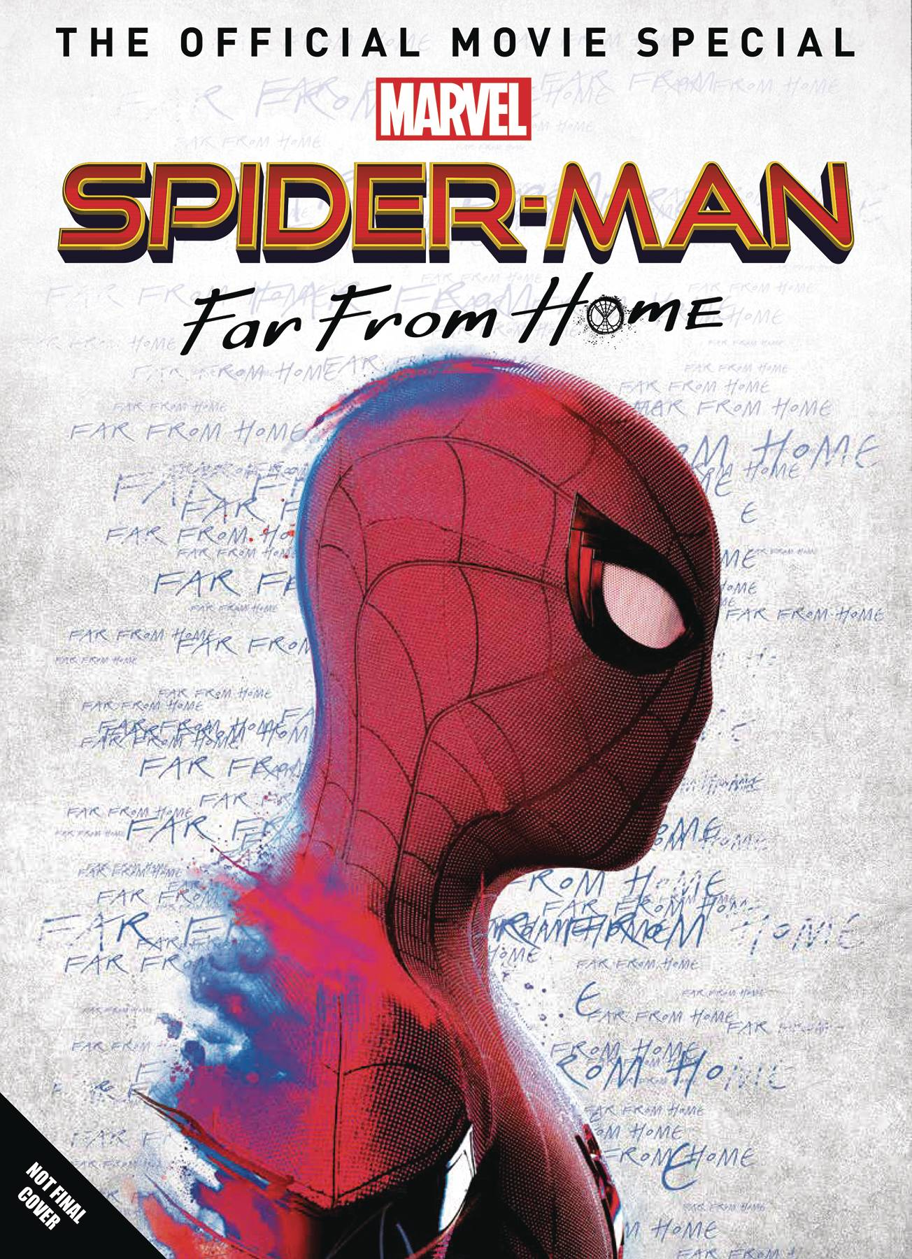 SPIDER-MAN FAR FROM HOME OFF MOVIE SPECIAL HC