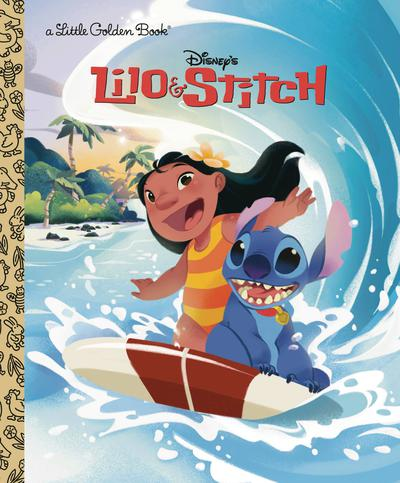 DISNEY LILO & STITCH LITTLE GOLDEN BOOK