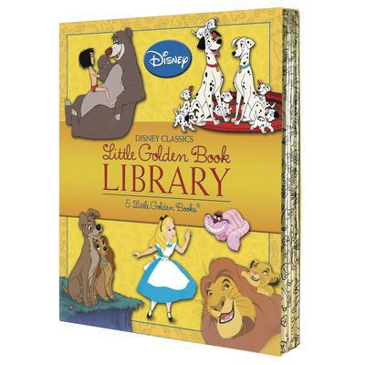 DISNEY LITTLE GOLDEN BOARD BOOK LIBRARY