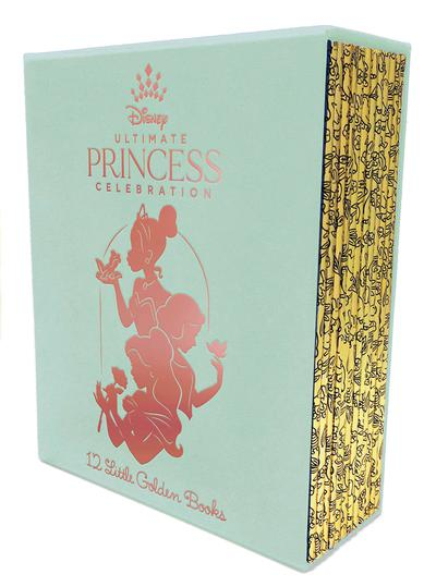 LITTLE GOLDEN BOOK ULT DISNEY PRINCESS BOX SET
