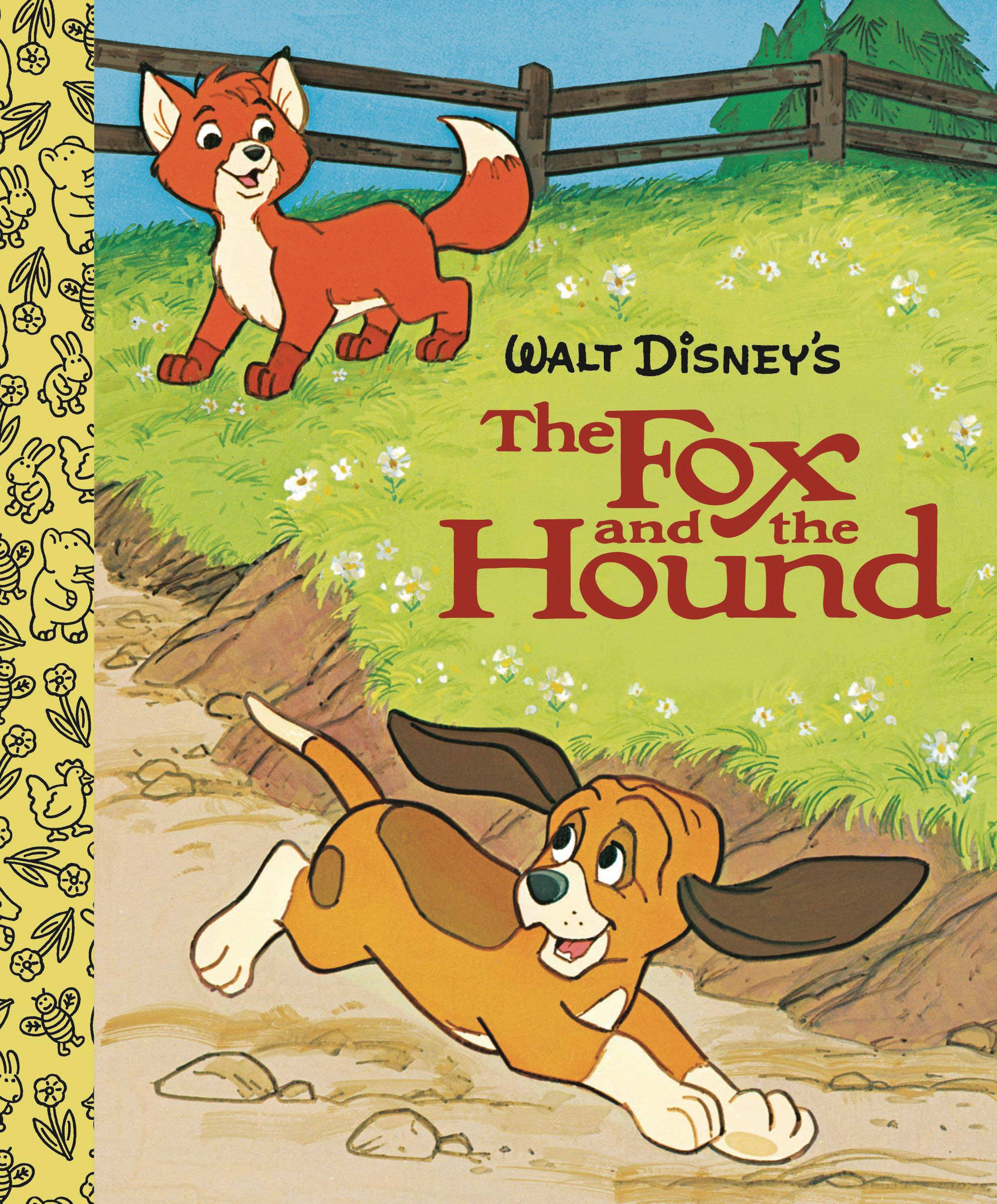 WALT DISNEYS FOX & HOUND LITTLE GOLDEN BOARD BOOK