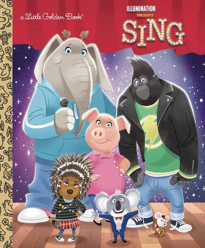 ILLUMINATIONS SING LITTLE GOLDEN BOOK