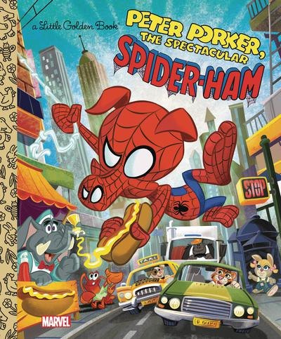 SPIDER HAM LITTLE GOLDEN BOOK