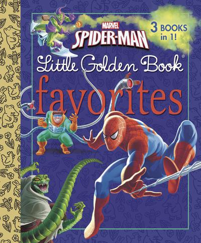 SPIDER MAN LITTLE GOLDEN BOOK FAVORITES