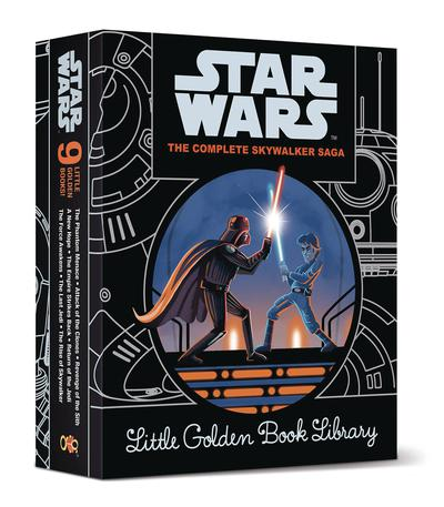 STAR WARS EPISODES I-IX LITTLE GOLDEN BOOK COLLECTION