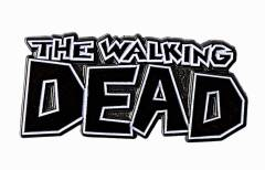 WALKING DEAD LOGO PIN
