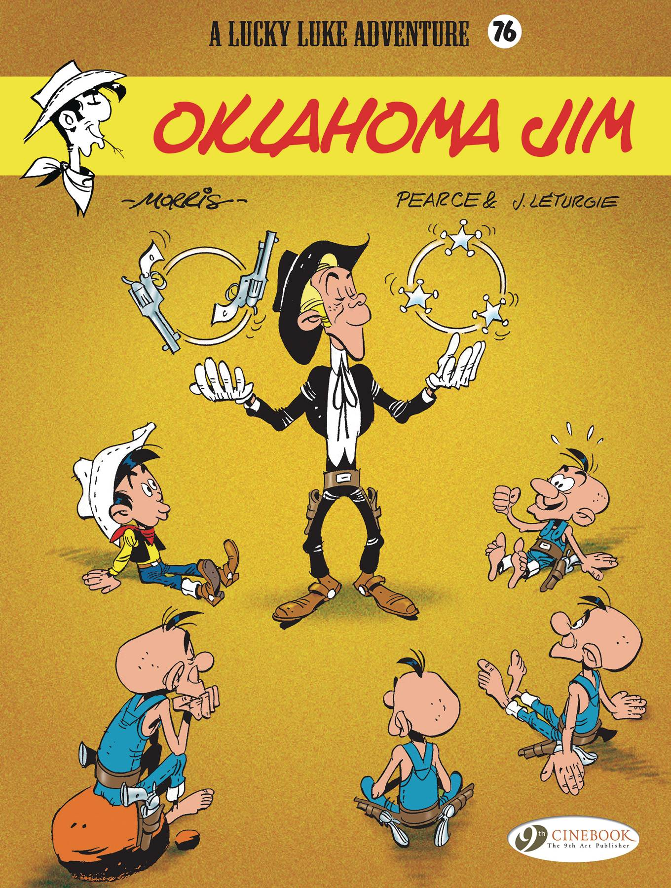 LUCKY LUKE TP 76 OKLAHOMA JIM