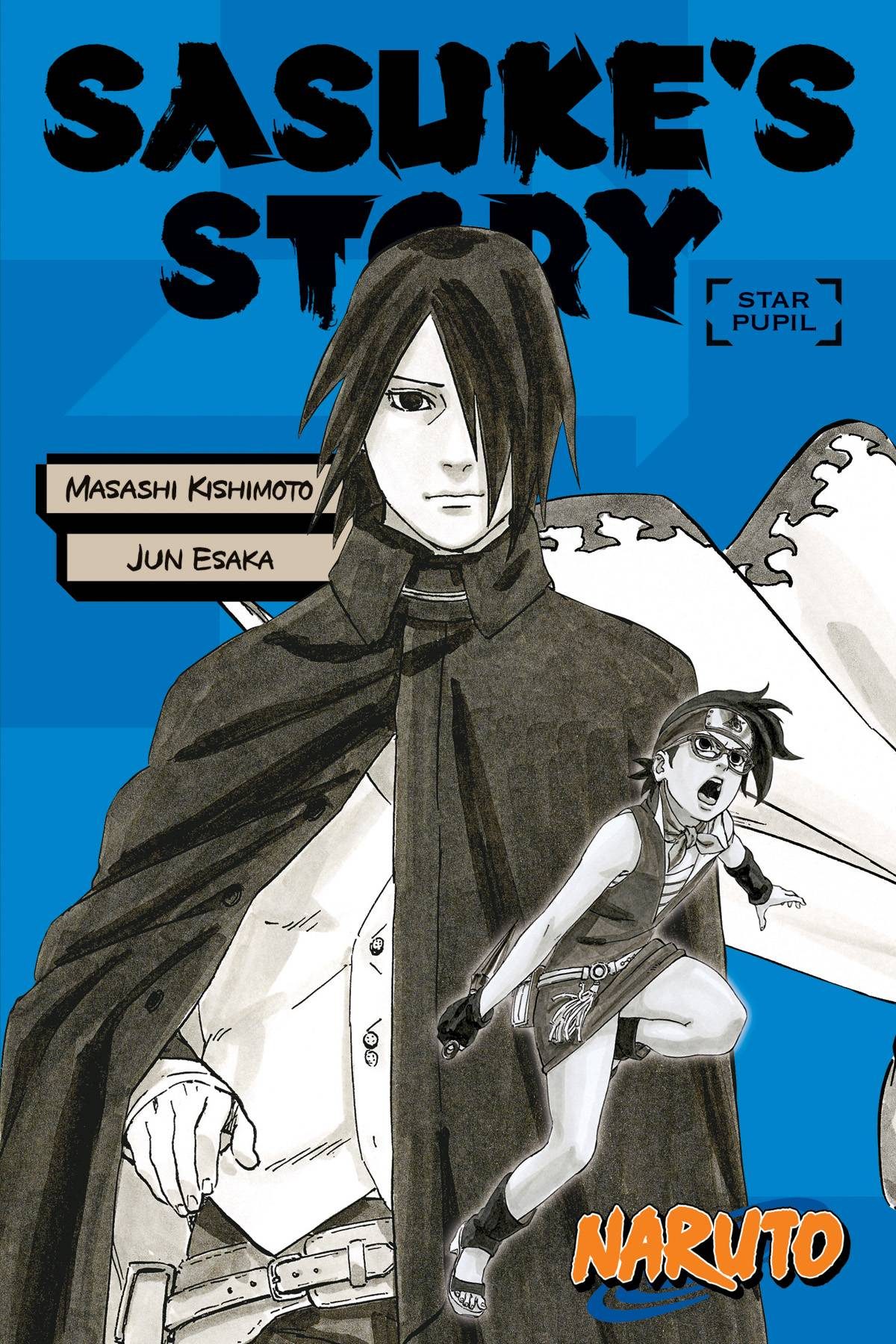 NARUTO SASUKE STORY SC NOVEL STAR PUPIL