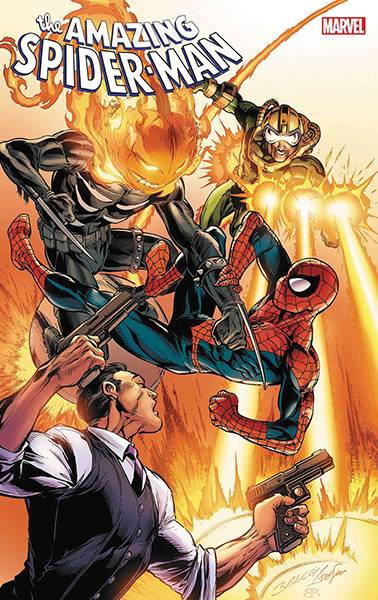 DF AMAZING SPIDERMAN #69 SPENCER SGN