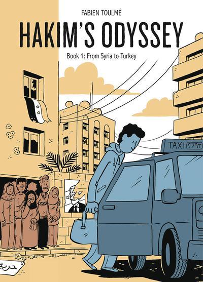 HAKIMS ODYSSEY HC 01 FROM SYRIA TO TURKEY