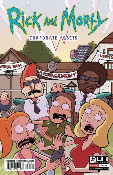 RICK AND MORTY CORPORATE ASSESTS