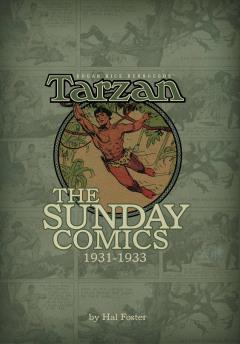 BURROUGHS TARZAN SUNDAY COMICS 1931-1933 HC 01