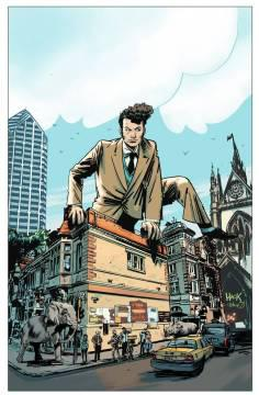 DIRK GENTLY BIG HOLISTIC GRAPHIC NOVEL TP