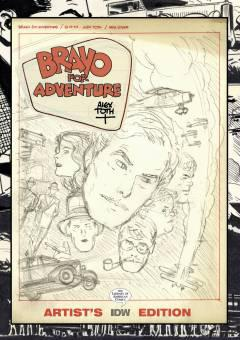 ALEX TOTH BRAVO FOR ADVENTURE ARTIST ED HC