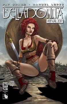 BELLADONNA ANNUAL 2017 SHIELD MAIDEN CVR