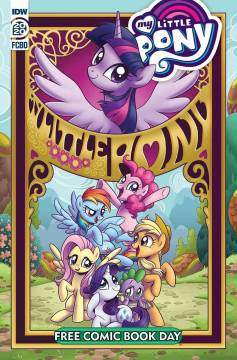 FCBD 2020 MY LITTLE PONY FRIENDSHIP IS MAGIC