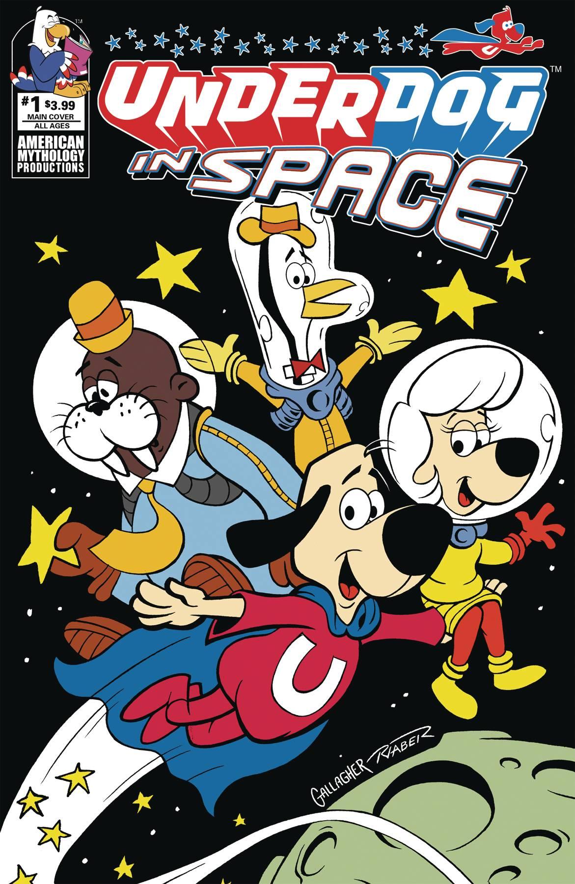 UNDERDOG IN SPACE