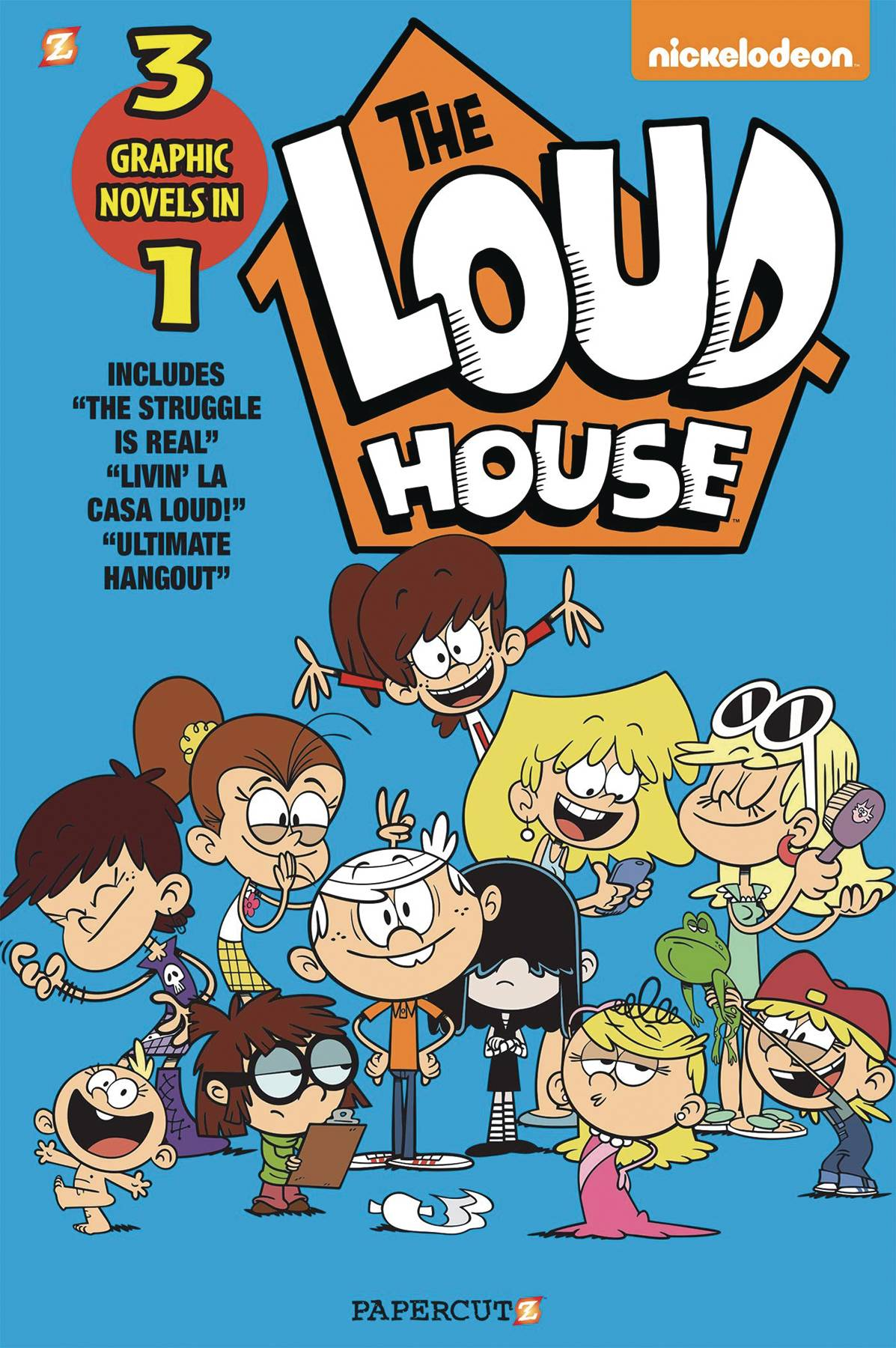 LOUD HOUSE 3IN1 TP 03