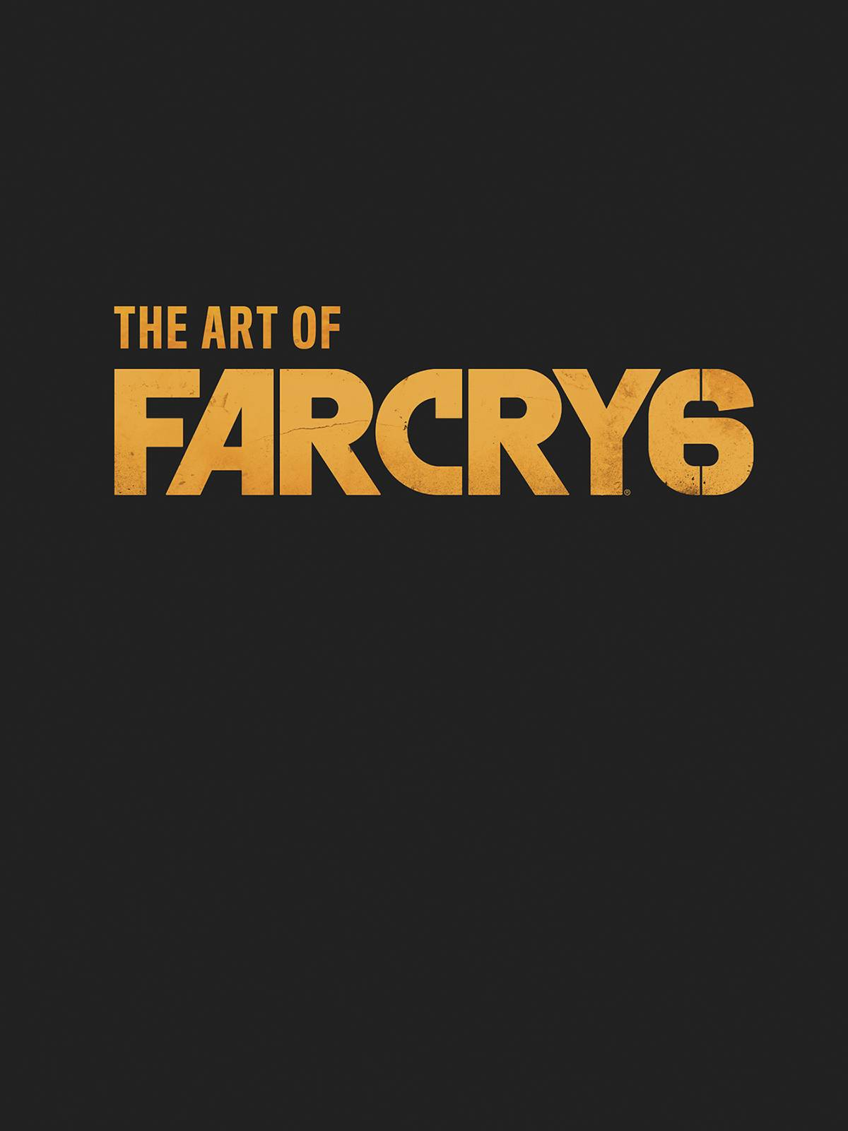 ART OF FAR CRY 6 HC