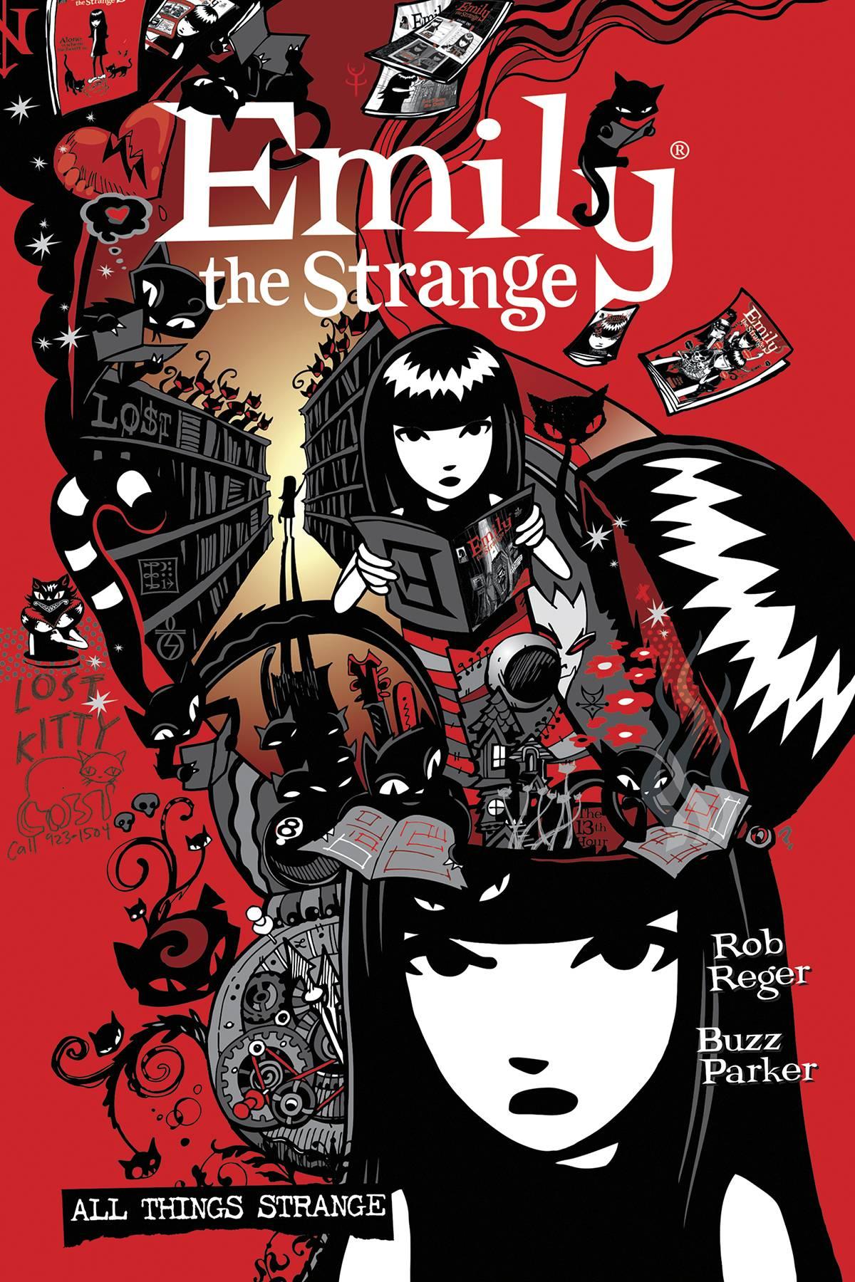 COMPLETE EMILY THE STRANGE ALL THINGS STRANGE 2ND ED HC