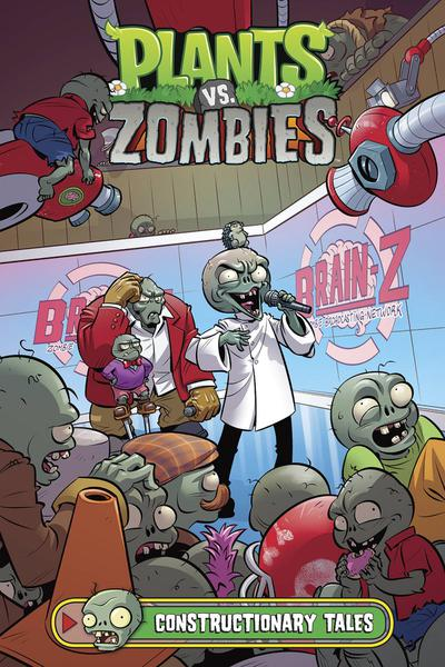 PLANTS VS ZOMBIES CONSTRUCTIONARY TALES HC 01