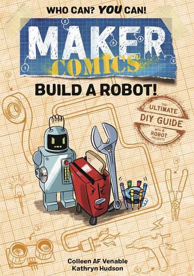 MAKER COMICS HC BUILD A ROBOT