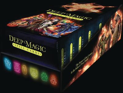 DEEP MAGIC SPELL CARDS DISPLAY BOX