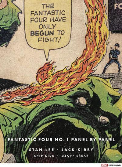 FANTASTIC FOUR #1 PANEL BY PANEL