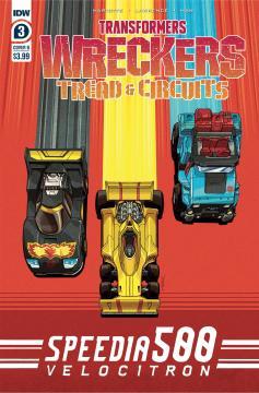 TRANSFORMERS WRECKERS TREAD & CIRCUITS