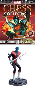 MARVEL CHESS FIG COLL MAG NIGHTCRAWLER WHITE PAWN