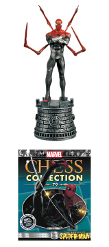 MARVEL CHESS FIG COLL MAG #79 SUPERIOR SPIDER-MAN WHITE ROOK