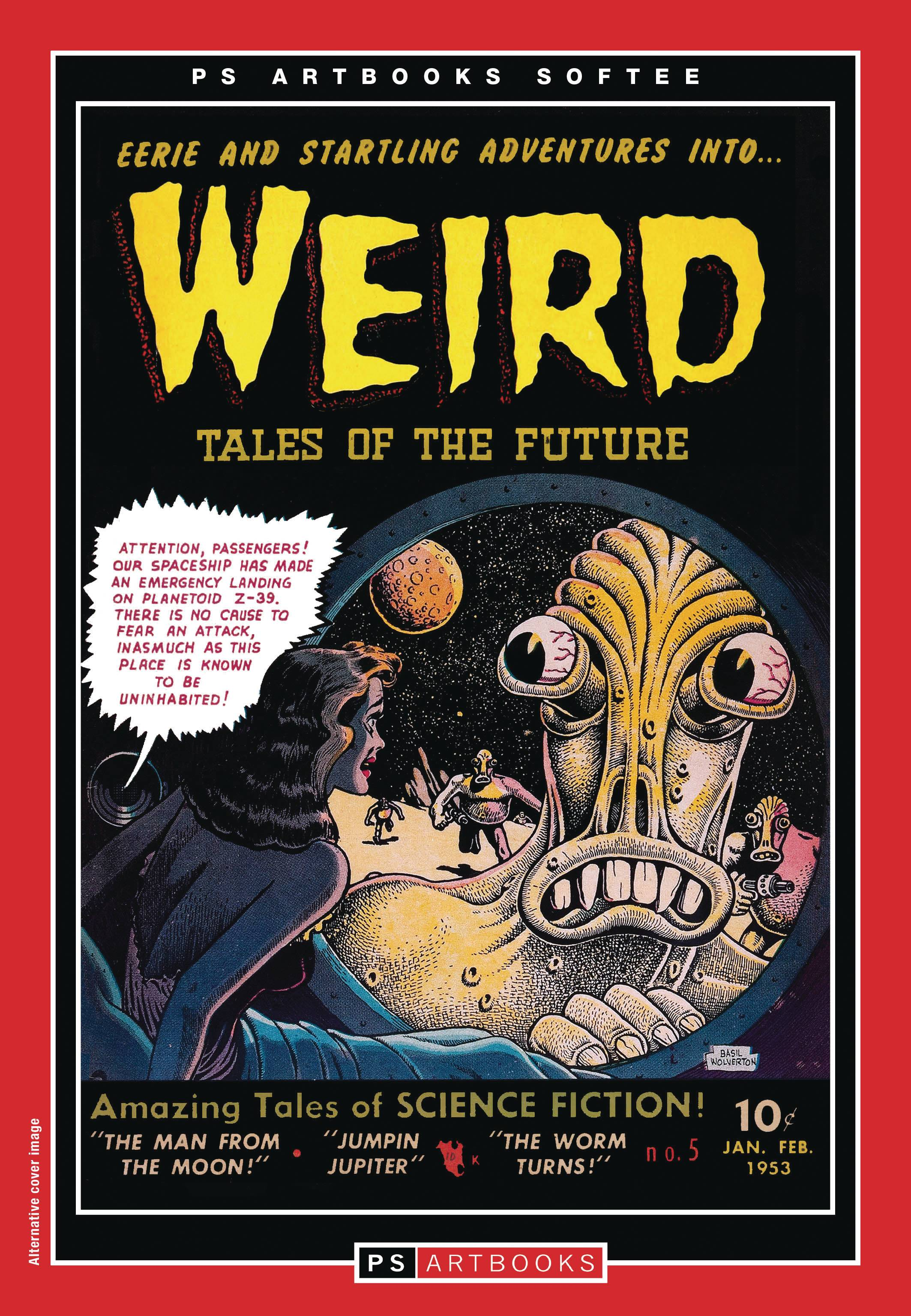 PS ARTBOOKS WEIRD TALES OF FUTURE SOFTEE TP 02