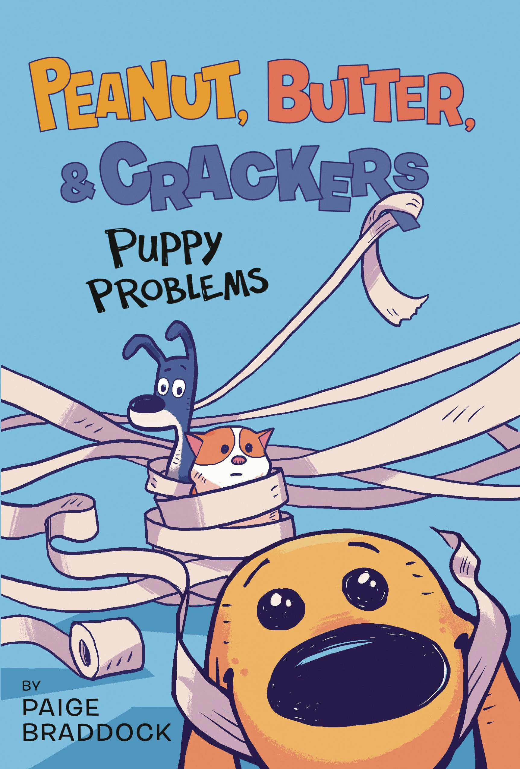 PEANUT BUTTER & CRACKERS YR TP 01 PUPPY PROBLEMS