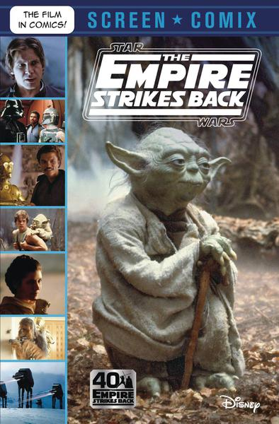 STAR WARS EMPIRE STRIKES BACK SCREEN COMIX TP