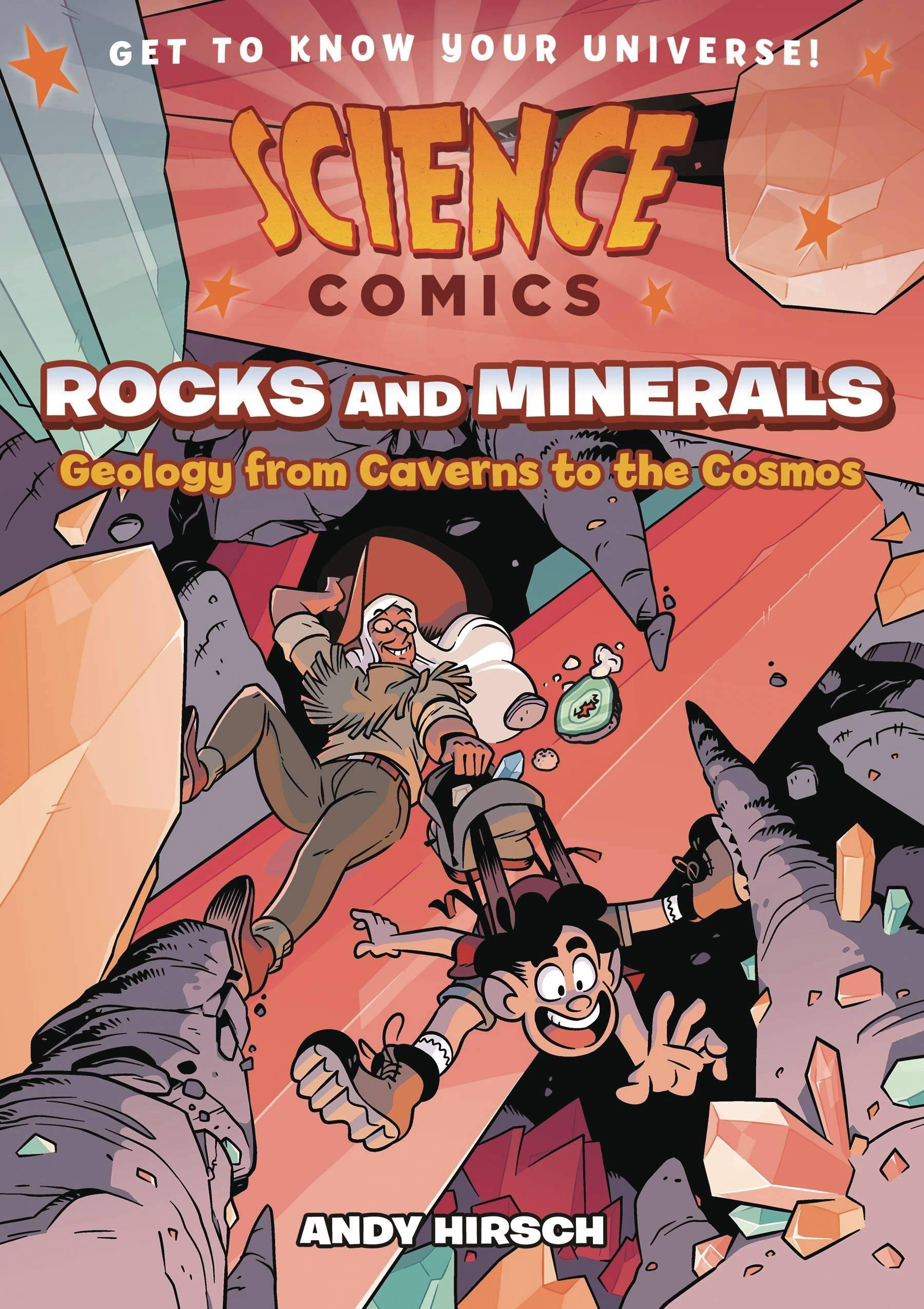SCIENCE COMICS ROCKS & MINERALS TP