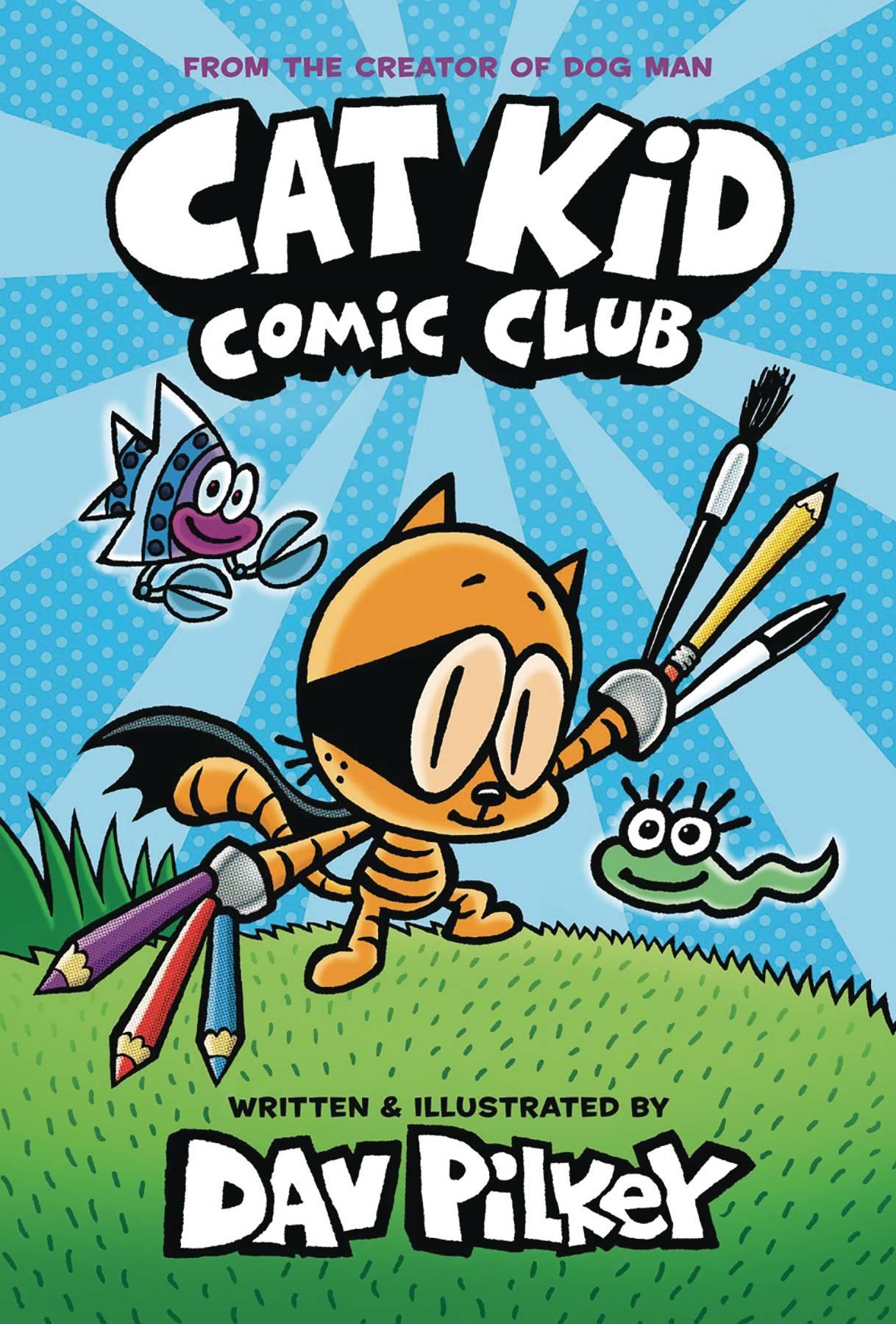 CAT KID COMIC CLUB HC 01 W DUSTJACKET