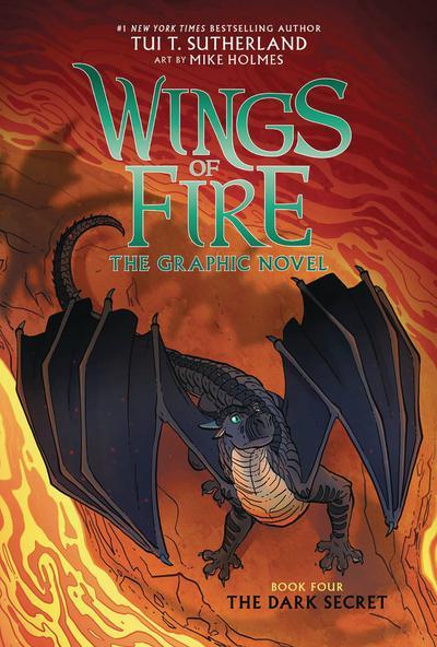 WINGS OF FIRE HC 04 DARK SECRET