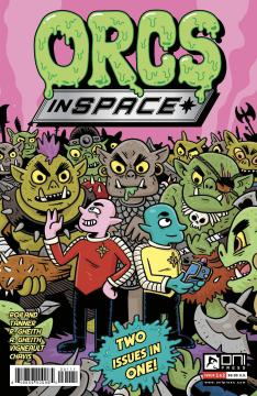 ORCS IN SPACE 2 IN 1