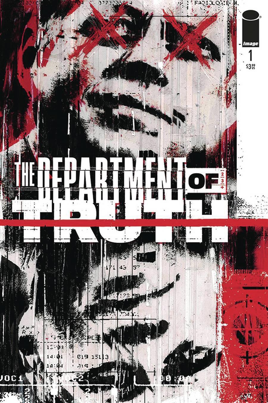 DF DEPT OF TRUTH #1 CGC GRADED