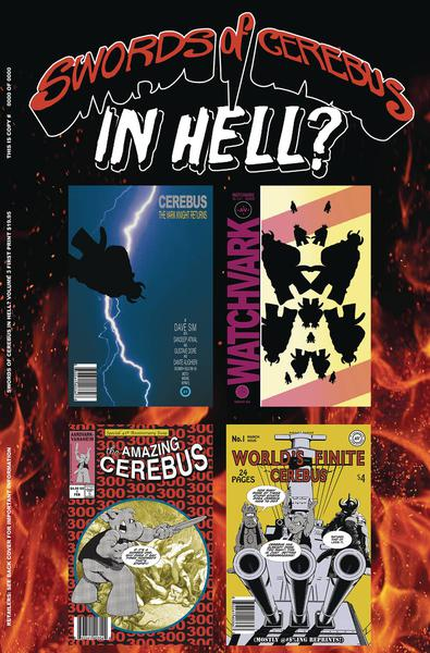 SWORDS OF CEREBUS IN HELL TP 03