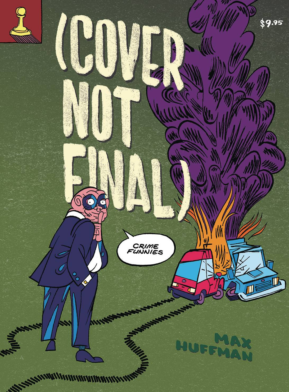 COVER NOT FINAL CRIME FUNNIES TP