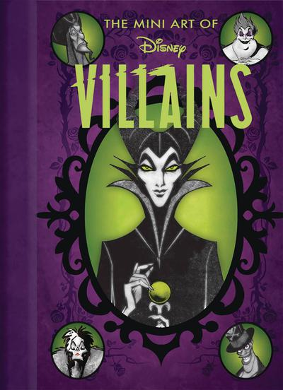DISNEY MINI ART OF DISNEY VILLAINS HC