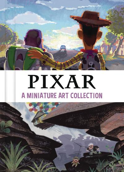 PIXAR MINIATURE ART COLLECTION HC