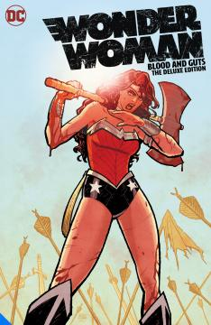 WONDER WOMAN BLOOD AND GUTS DELUXE EDITION HC