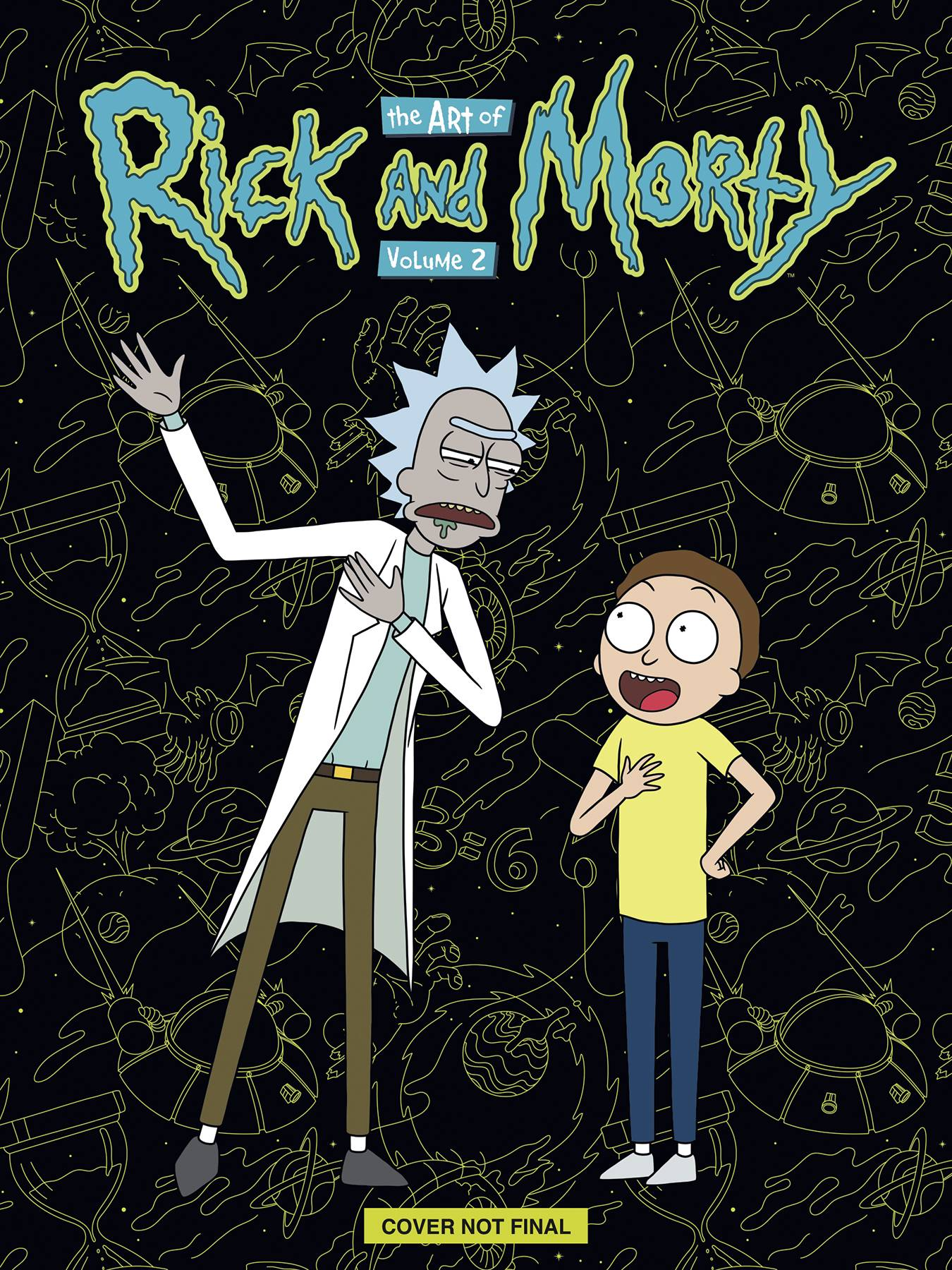 ART OF RICK & MORTY HC DLX ED 02